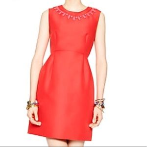 Kate Spade Embellished Mindy Dress in Geranium